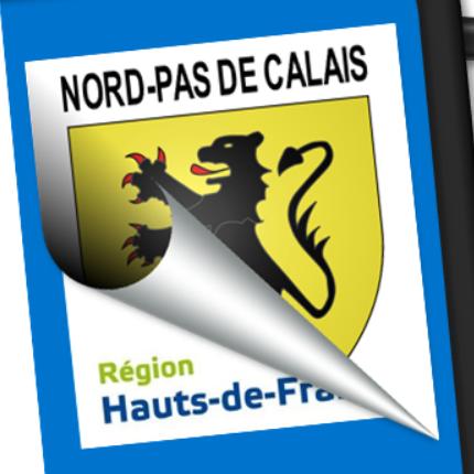 Blason seul: Nord-Pas-de-Calais