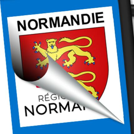 Blason seul: Normandie