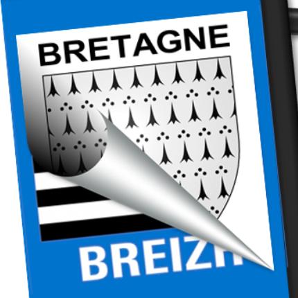 Blason seul: Bretagne