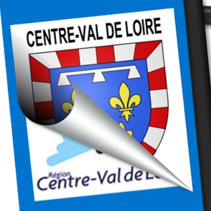 Blason seul: Centre-Val de Loire
