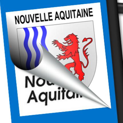 Blason seul: Nouvelle Aquitaine