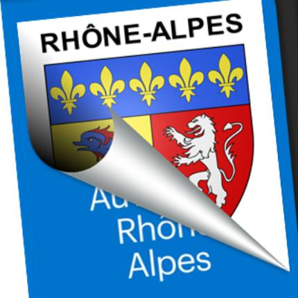 Blason seul: Rhône-Alpes
