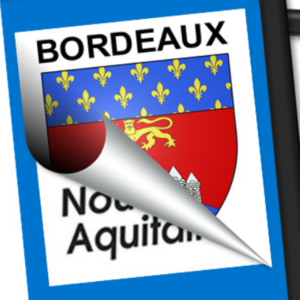 Blason seul: Bordeaux