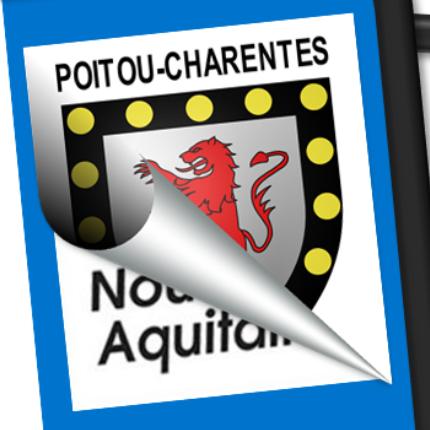 Blason seul: Poitou-Charente