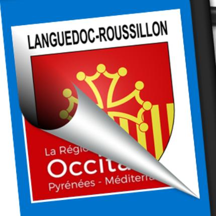 Blason seul: Languedoc-Roussillon